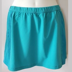 Nike Dri Fit Mesh Blue Short / Skort